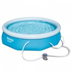 10ft Round Swimming Pool and Filter Pump